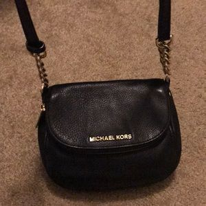 Michael kors leather satchel purse